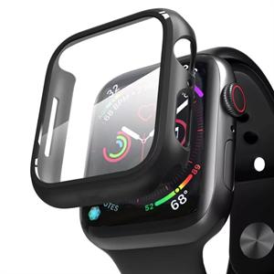 Кейс Deppa со стеклом для Apple Watch 4/5 series, 40mm, черный