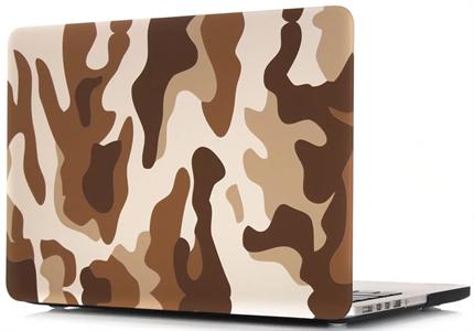 Чехол накладка для MacBook Air 2013 13' NN, камуфляж коричневый