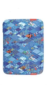 Чехол конверт для MacBook и пр. ноутбуков 13 дюймов, Sochi, синий