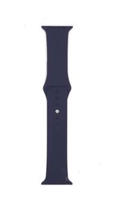 Ремешок Gurdini для Watch 38/40mm, силиконовый, Sport, 2 размера, темно-синий
