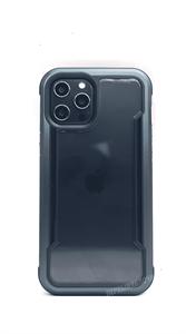Чехол X-Doria Defense для iPhone 12 Pro Max, противоударный метал, синий