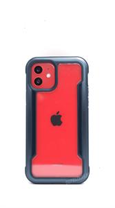 Чехол X-Doria Defense для iPhone 12/12 Pro, противоударный метал, синий