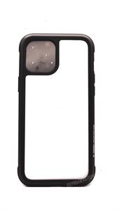 Чехол для iPhone 12/12 Pro K-DOO Ares противоударный, металический, черный