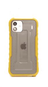 Чехол для iPhone 12/12 Pro Mutural противоударный, желтый