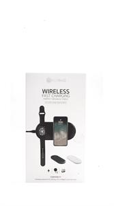 Беспроводная зарядка 2 в 1 COTEetCl (iPhone, Apple Watch), белый