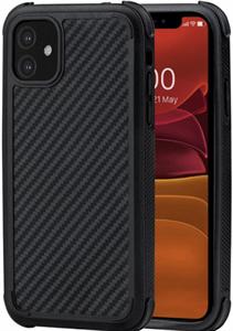 Чехол для iPhone 11 Pitaka MagCase PRO (с поддержкой беспроводной зарядки и магнитного держателя), черный