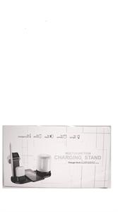 Беспроводная док станция 5 in 1 (iPhone/AirPods/Watch/Pencil/Led Light) USB-C, белый