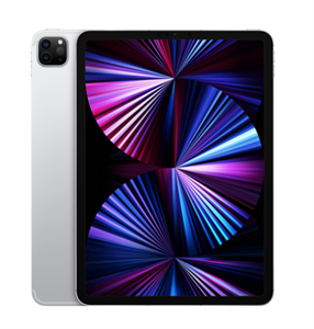 "iPad Pro (2021) 11"" Wi-Fi + Cellular 128Gb Silver, серебристый (MHW63)"