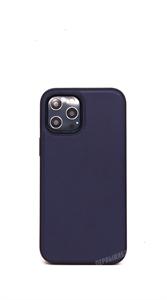 Чехол для iPhone 12 Pro Max Memumi, кожаный, синий
