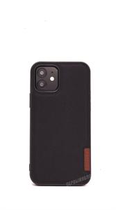 Чехол для iPhone 12/12 Pro DUX DUCIS Fino, тканевый, черный