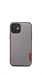 Чехол для iPhone 12/12 Pro DUX DUCIS Fino, тканевый, серый