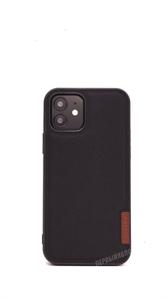 Чехол для iPhone 12 Pro Max DUX DUCIS Fino, тканевый, черный
