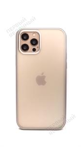 Чехол для iPhone 12/12 Pro TOTU Matte Series, Silver