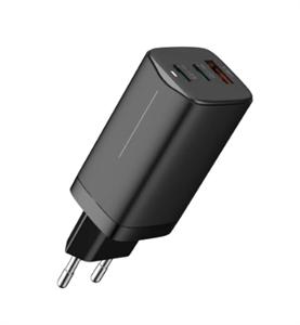 Сетевое зарядное устройство Mcdodo 65w Gan mini Fast Charger, черный