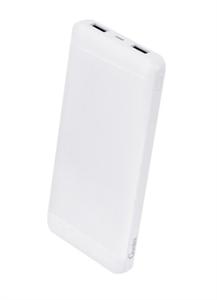 Дополнительный аккумулятор Gurdini Slim Series 10000mAh, белый