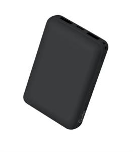 Дополнительный аккумулятор Gurdini Mini Series 10000mAh, черный