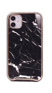 Чехол для iPhone 11 King, мрамор, черный