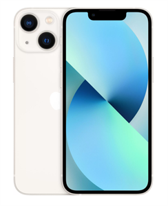 Смартфон iPhone 13 mini 128GB, Starlight, сияющая звезда (MLLW3)