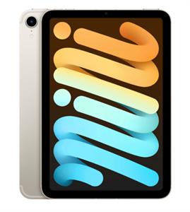 Планшет iPad mini (2021) Wi-Fi + Cellular 64GB, Starlight, сияющая звезда (MK8C3)