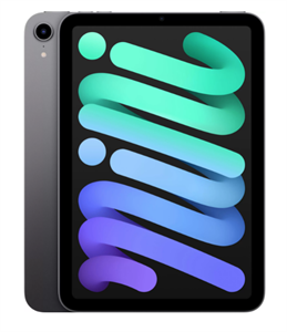 Планшет iPad mini (2021) Wi-Fi 256GB, Space Gray, серый космос (MK7T3)