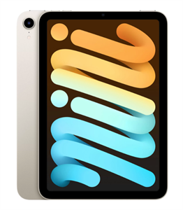 Планшет iPad mini (2021) Wi-Fi 64GB, Starlight, сияющая звезда (MK7P3)