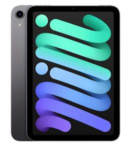 Планшет iPad mini (2021) Wi-Fi 64GB, Space Gray, серый космос (MK7M3)
