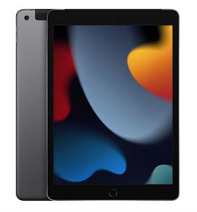 "Планшет iPad 10,2"" (2021) Wi-Fi + Cellular 64GB, Space Gray, серый космос (MK473)"