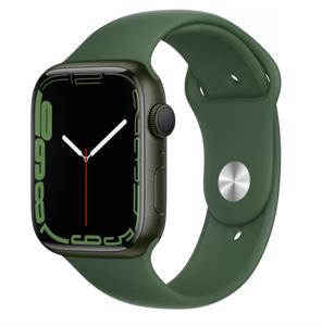 Умные часы Watch S7 45mm Green Aluminum Case with Clover Sport Band (MKN73)