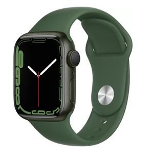 Умные часы Watch S7 41mm Green Aluminum Case with Clover Sport Band (MKN03)