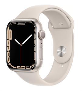 Умные часы Watch S7 45mm Starlight Aluminum Case with Starlight Sport Band (MKN63)