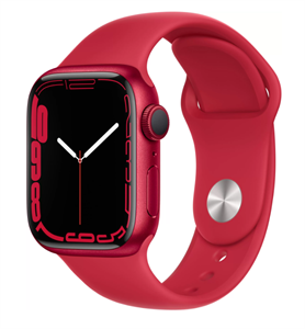Умные часы Watch S7 41mm (PRODUCT)RED Aluminum Case with (PRODUCT)RED Sport Band (MKN23)