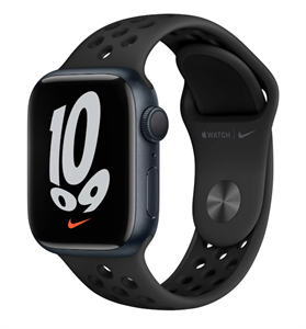 Умные часы Watch Nike S7 41mm Midnight Aluminum Case with Nike Anthracite/Black Sport Band (MKN43)