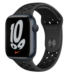 Умные часы Watch Nike S7 45mm Midnight Aluminum Case with Nike Anthracite/Black Sport Band (MKNC3)