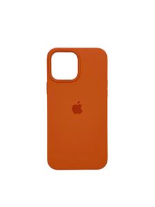 Чехол для iPhone 13 Pro Max Silicone Case HQ, оранжевый