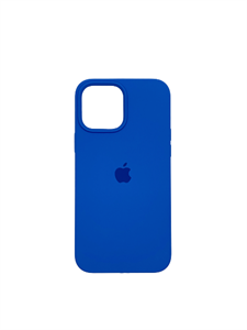 Чехол для iPhone 13 Pro Max Silicone Case HQ, синий