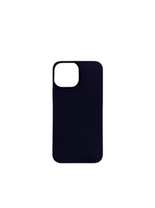 Чехол для iPhone 13 Pro силиконовый плотный, черный