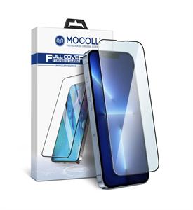 Защитное стекло 2.5D для iPhone 13 Pro Max Mocoll (Cерия Rhinoceros), черный