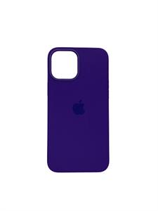 Чехол для iPhone 13 Pro Silicone Case HQ, фиолетовый