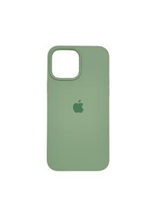 Чехол для iPhone 13 Pro Silicone Case HQ, фисташковый