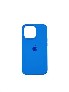 Чехол для iPhone 13 Pro Max Silicone Case, (Abyss Blue) синий (OR)