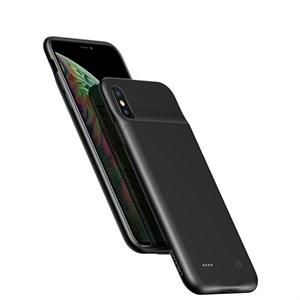 Чехол аккумулятор для iPhone Xs Max 4000mAh USAMS, черный