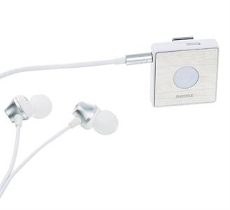 Беспроводные наушники (Наушники 3.5mm, с адаптером bluetooth) REMAX S3 Clip-On, белый
