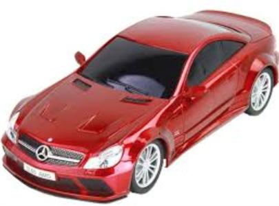Радиоуправляемая машина iCess Bluetooth Mersedes-Benz SL65 AMG Красный (уц, только Android)