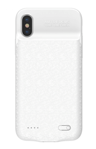 Чехол аккумулятор для iPhone X/Xs 3500mAh Baseus, белый