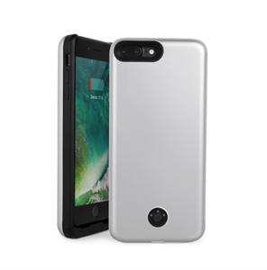 Чехол аккумулятор для iPhone 7/8 Plus 9000mAh 07p-01, серебристый