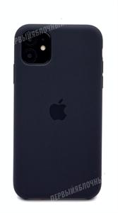 Чехол для iPhone 11 Silicone Case (Black), черный (OR)