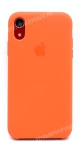 Чехол для iPhone Xr Silicone Case (Papaya), свежая папая (OR)
