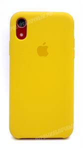 Чехол для iPhone Xr Silicone Case (Canary Yellow), канареечный (OR)