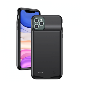 Чехол аккумулятор для iPhone 11 Pro Max USAMS, 4500 mAh, черный