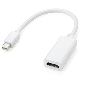 Адаптер кабель Mini DisplayPort to Mini DisplayPort (thunderbolt), белый (HQ)